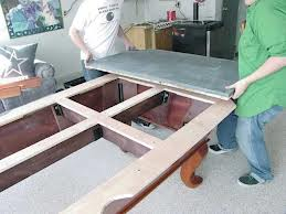 Pool table moves in Cookeville Tennessee